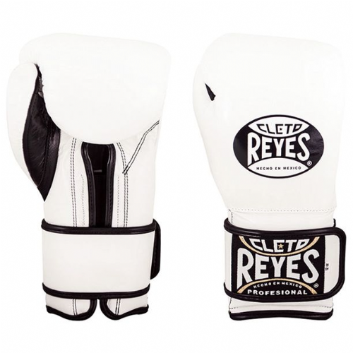 Cleto Reyes Wrap Around Sparring Gloves - White